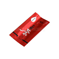 China top quallity customized metalized red seal foil bag tea pouches