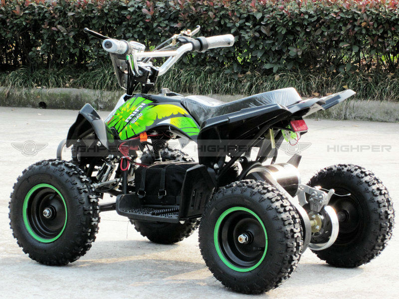800W Electric 4 wheel Quad ATV (ATV-6E)