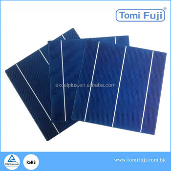 buy 05.v 156x156 best price per watt silicon polycrystalline solar cell wholesale for solar panel