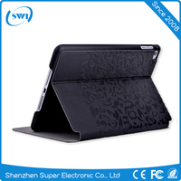 Full Protect PU PC Leather Cover Cases Stand For iPad Mini 4