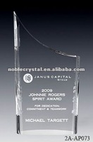 Noble Infinity Crystal Plaque Memento Trophy Gift