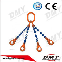 DMY Grade 80 With Hooks 4 Legs 4 Limbs Lifting Chain Slings