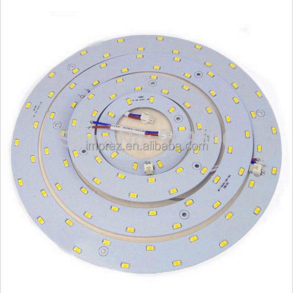 EXW price SMD5730 AC85-265V 5w 12w 15w 18w led circle ring light