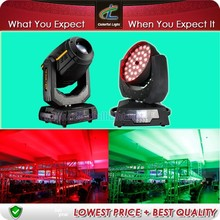 Stage lighting-Hot!! Wash Head Led Zoom 36 10w Moving Head Stage Light