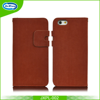 China Factory Wholesale Fancy PU Leather Cell Phone Cases for iphone 6