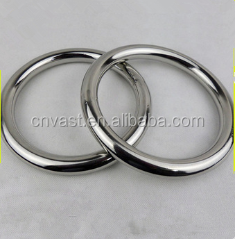 Customized Stainless Steel Hardware Round 316 Stainless Steel O Ring