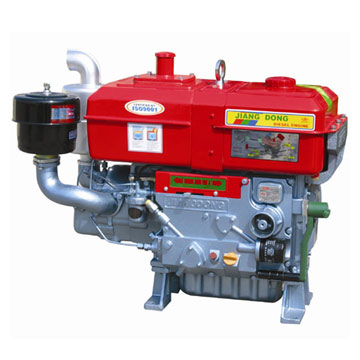 Jiangdong ZS1125 single cylinder diesel engine