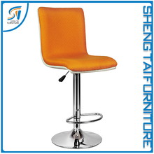 2017 High quality cheap swivel bar stool with back