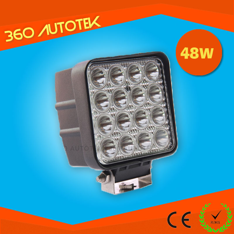 super bright 48w led work light off road led work light for four wheels drive <strong>autos</strong>