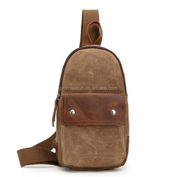 Fashion Shoulder Chest Crossbody Sling Bag Back Pack Backpack for Men Women