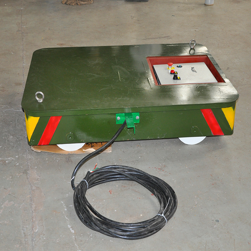 The hot sale mobile cable powered transport carriage for carrying cargoes(kpt-2t)