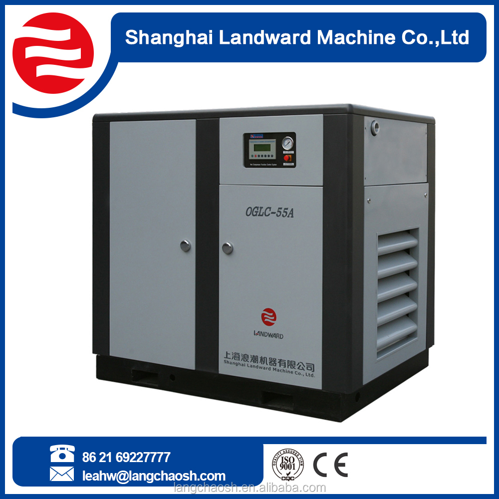 China Wholesale Market inverter controlled screw air compressor