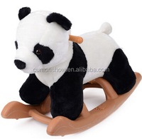 new motorized plush riding animals children toy