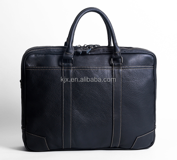 15inch Laptop Leather Briefcase for Man China Factory
