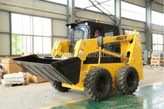 China Bob cat skid steer loader manufacturer, 65hp mini skid steer loader for sale