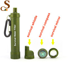 life survival water filter straw Use and Outdoor water filter Type personal water purifier straw