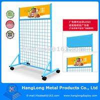 metal wire metal hanging display racks for mobile phone accessories