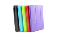 three folding pu leather case for kindle fire HD 7 case cover