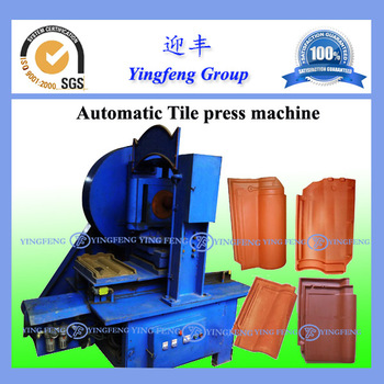 Economical! Yingfeng clay tile machine, small automatic clay tile machine