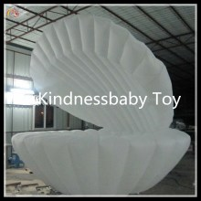 led lighting inflatable seashell , inflatable clamshell , inflatable cowry for advertising