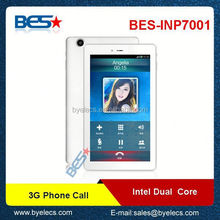 7inch Phone call 2g 3g intel atom android tablet