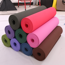 Pido manufactory private label ten color mix wholsale top quality TPE yoga mat cheap top quality