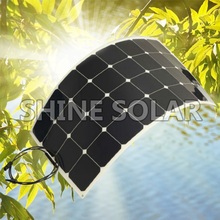 Hot sale 20W 30W 50W 75W 90W 100W high efficient Flexible Solar Panels price Made by China directly