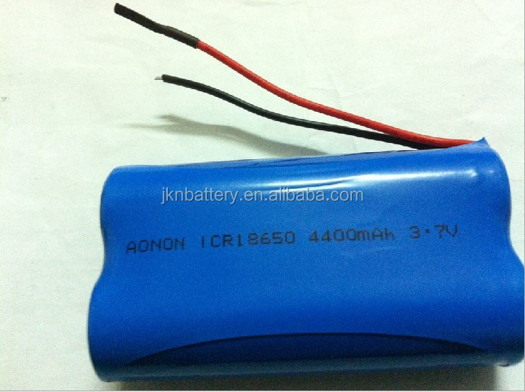 Rechargeable Li ion 18650 Battery 3.7v 1500mah with PCM