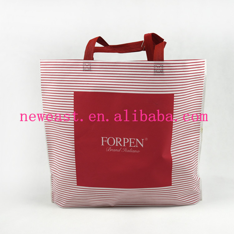 heat-sealed non-woven bag in high quality, can be customized by your own needs