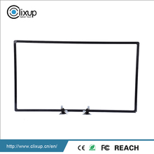 The factory price sell black aluminum multi interactive touch screen frame