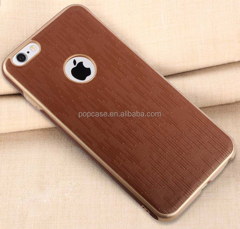 Protective Free Sample TPU Leather Cellular Phone Case for Iphone7 plus