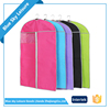 Colorful PP Non-woven Fabric Dust-proof Foldable Portable Mens Travel Garment Bag