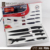 Top Quality Cute 6pcs Non-stick Stainless Steel Kitchen Knife Set