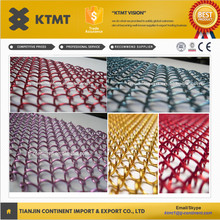Metal Coil Drapery/steel decorative Wire Mesh/Metal Curtain