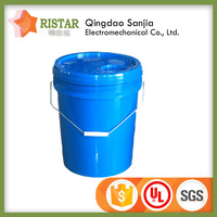 Alibaba online shopping colored 20 liter 5 gallon plastic round buckets