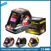 EN379 Motorcycle Decals Electronic Automatic Welding Helmet With CE ANSI Approved