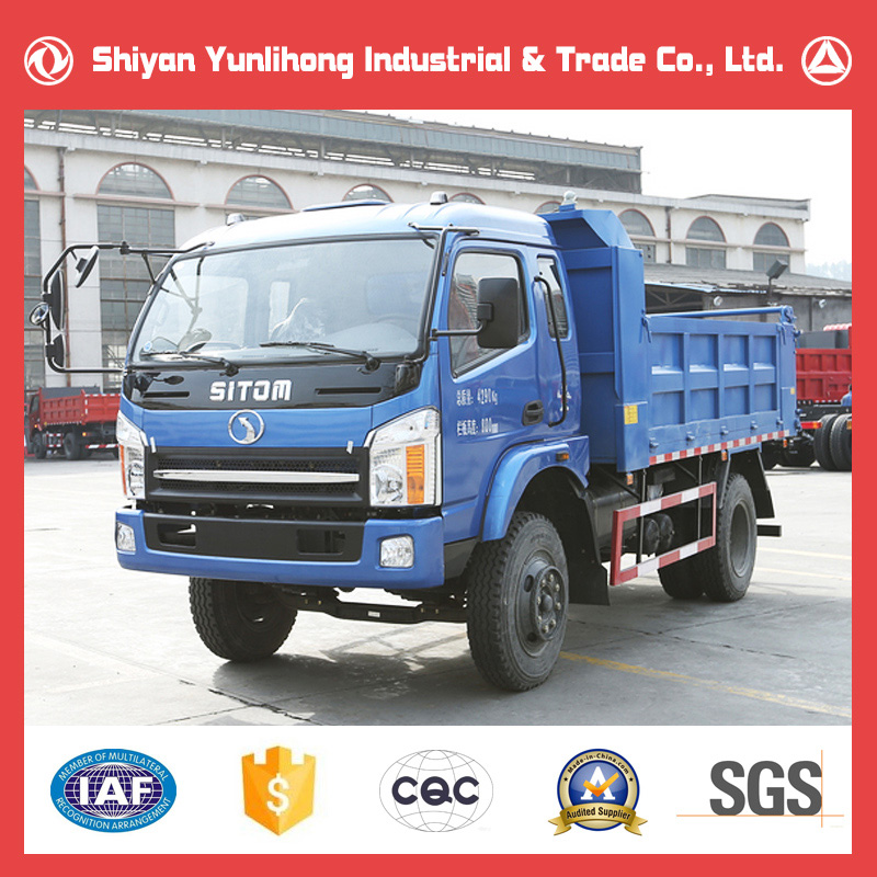 Chinese 6 Wheel High Speed Small Dump Truck Height