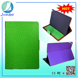 Hot selling leather stand flip cover 8.9 inch tablet case for ipad 3