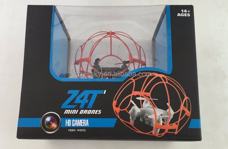 Toysky CSJ-Z4T 2.4Ghz Set height Mini Wifi FPV Pocket drone with camera