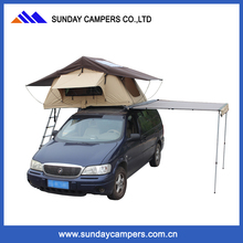 Overlander roof top tent 4x4 with car awning for out door camping