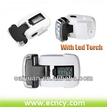 People counter Free pedometer 2014 with LED light