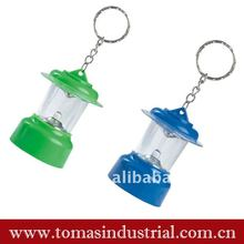 colorful LED metal key chain