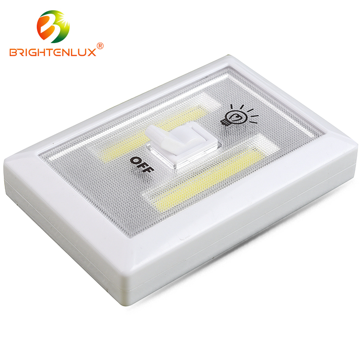 2017 Hot Sales Wireless Cob Battery Operated Led Light <strong>Switch</strong>