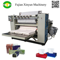 Automatic face tissue embossing machine