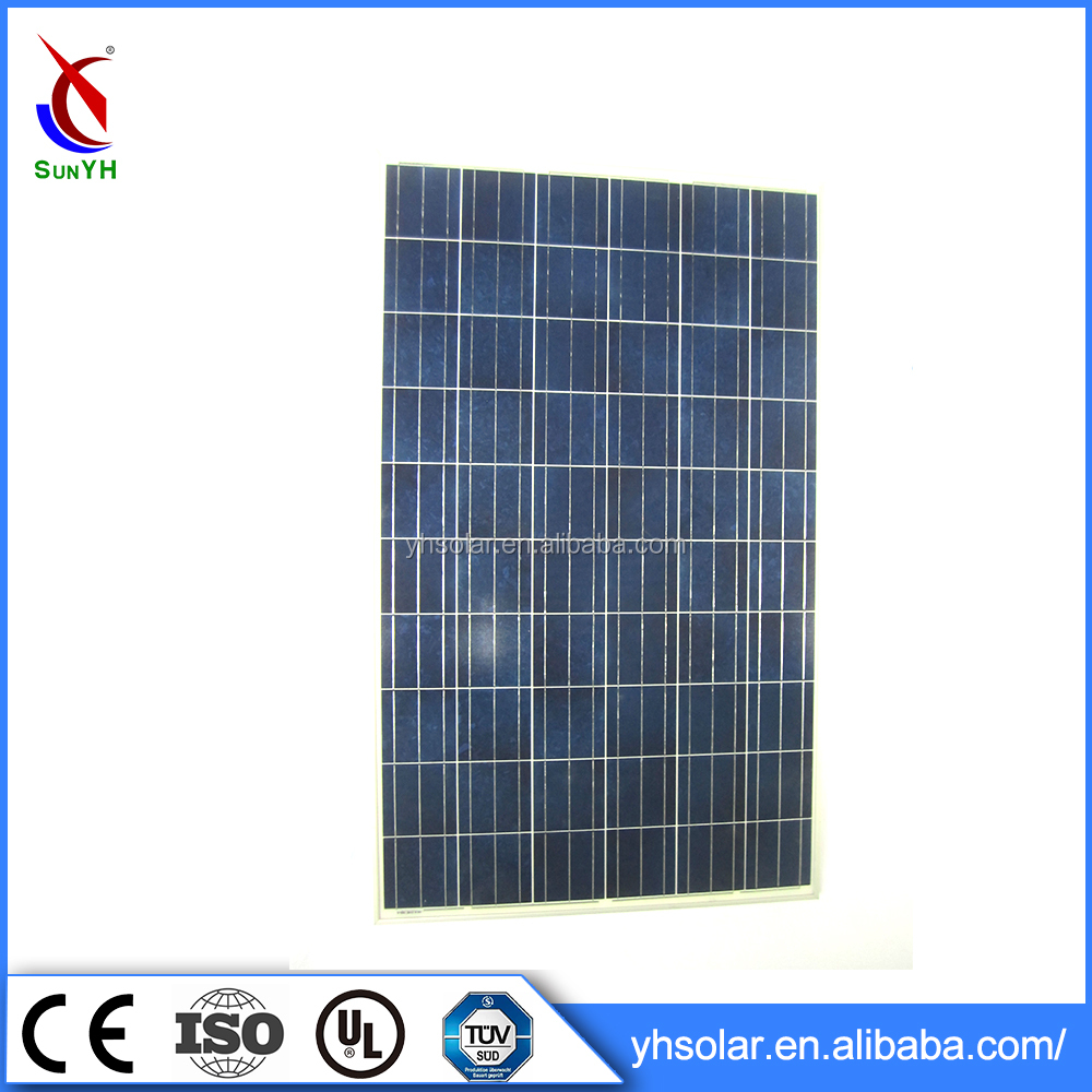 Polycrystalline 250w solar module solar cell panel , 30v solar panel battery