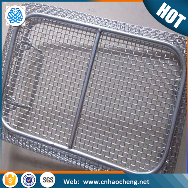 Food grade stainless steel barbecue bbq grill wire mesh net