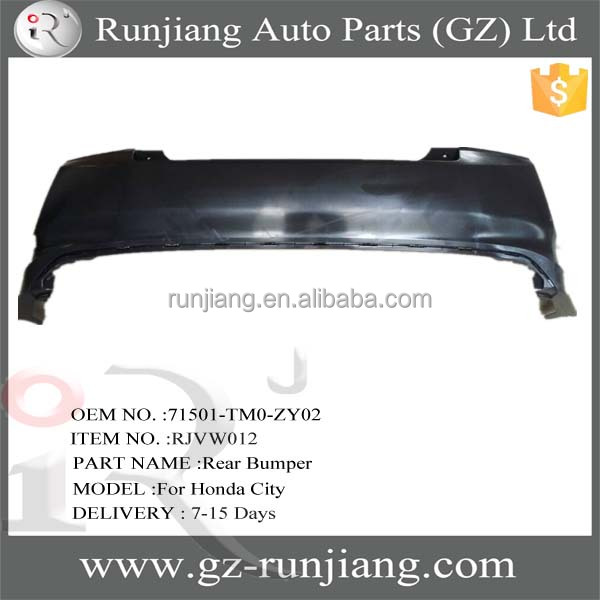71501-TM0-ZY02 abs plastic auto rear bumper for Honda City 2012 body kits
