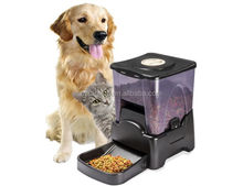FunPaw automatic pet feeder with sound recorder, auto remote control dog pet feeder