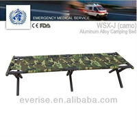 camping bed;first-aid device; hand frame; military standard; troops use; health care; patient movement; emergency transfer
