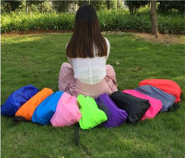 Надувные Воздушные Шезлонге Кемпинг Спящая ленивый Мешок Диван-Кровать Притон Портативный Воздушный Надувной Диван для Травы Пляжа Кемпинга Парк